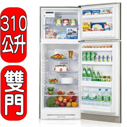 《特促可議價》SHARP夏普【SJ-E31T-S】《310公升》變頻雙門冰箱