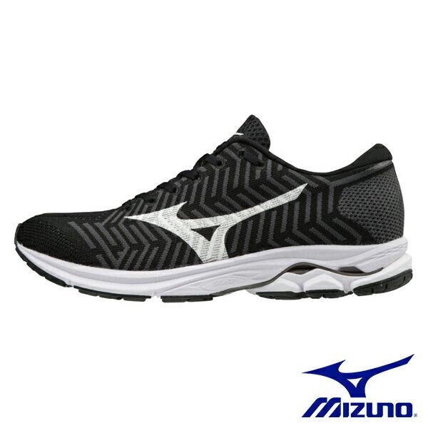 MIZUNO WAVEKNIT R1 女慢跑鞋 / 黑X白-J1GD182402 女鞋