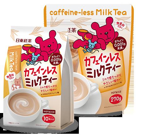 【橘町五丁目】日東紅茶 -低咖啡因奶茶 -10本