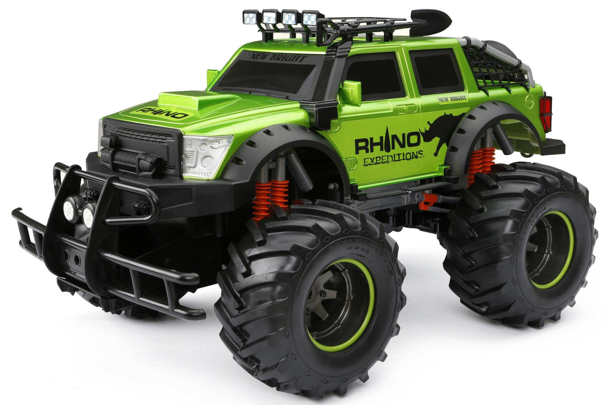 56f43099ecfcb Rakuten Home · Gizmo Toy. New Bright 4x4 Rhino Expeditions Full Function RC  Vehicle