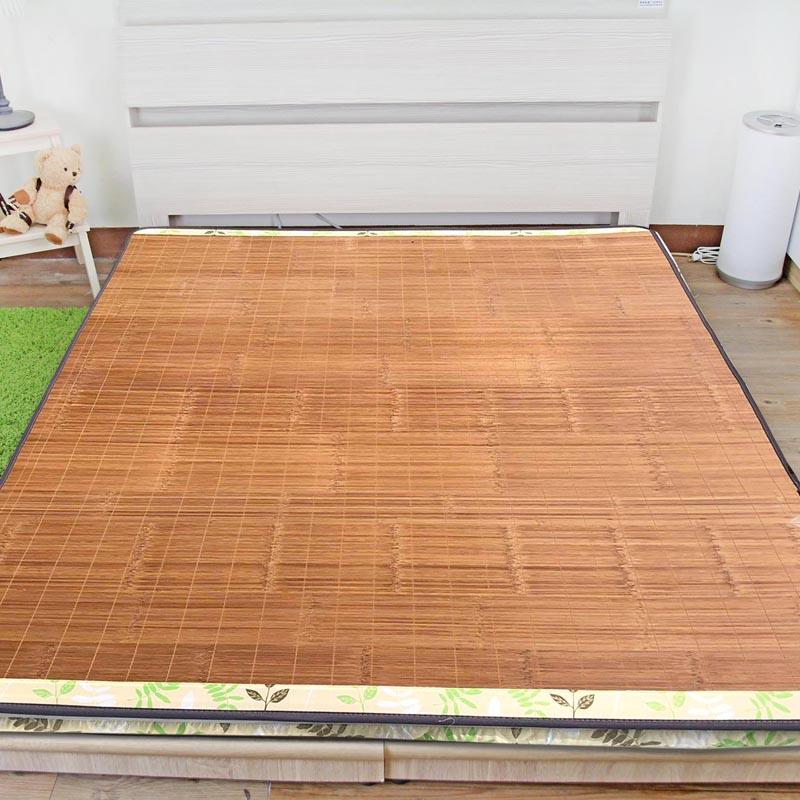 床墊 / 雙人 / 防潑水【防潑水竹炭鏡面兩用床墊】5x6尺 - 雙面設計 3M防潑水處理 碳化竹 MIT台灣製 Rohouse 樂活居 1