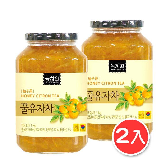 (限超取免運)韓國香醇養生蜂蜜柚子茶1Kg 2入組 [KR0042] 千御國際