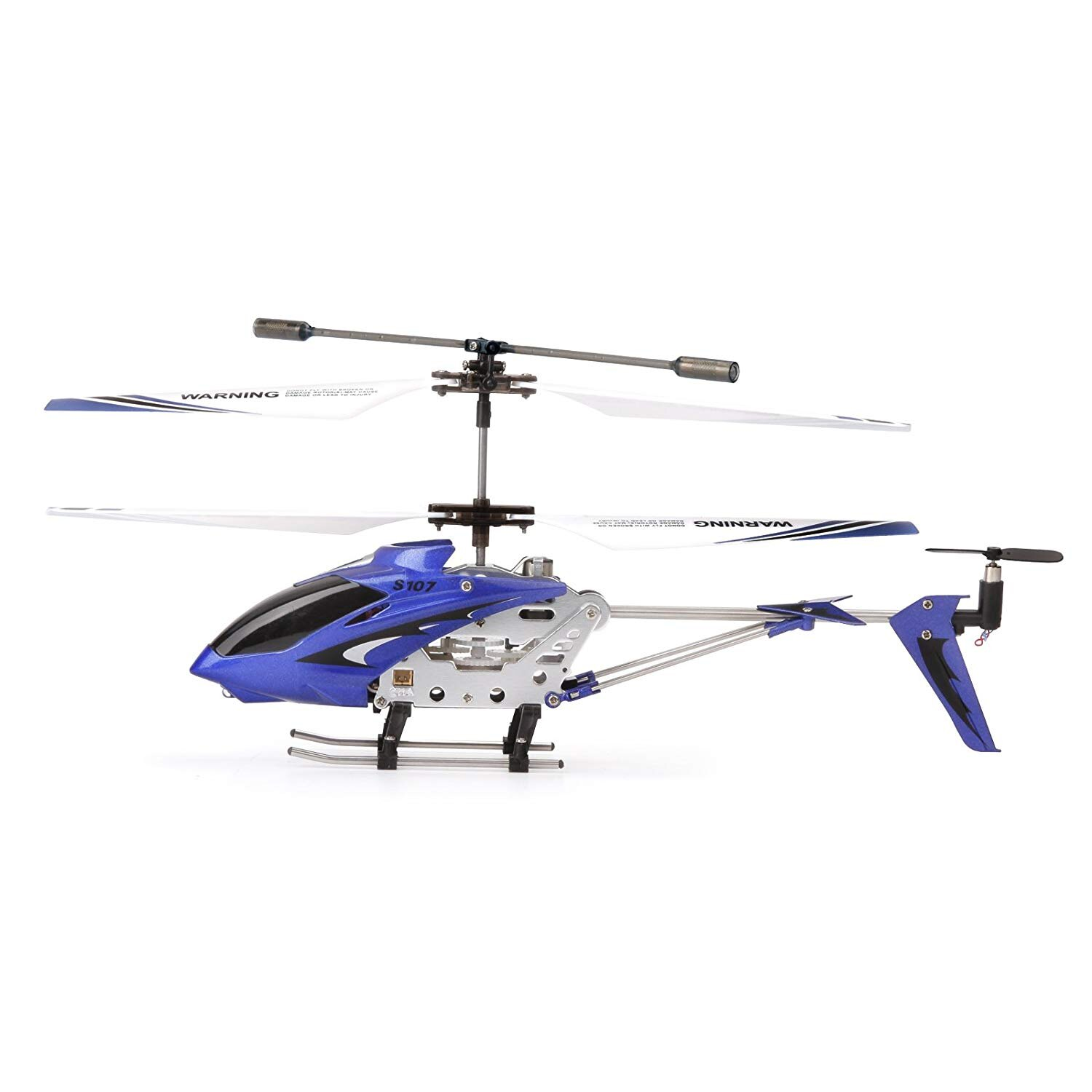 Syma S107G Mini 3.5 Channel Infrared RC Helicopter with Gyro Blue 0