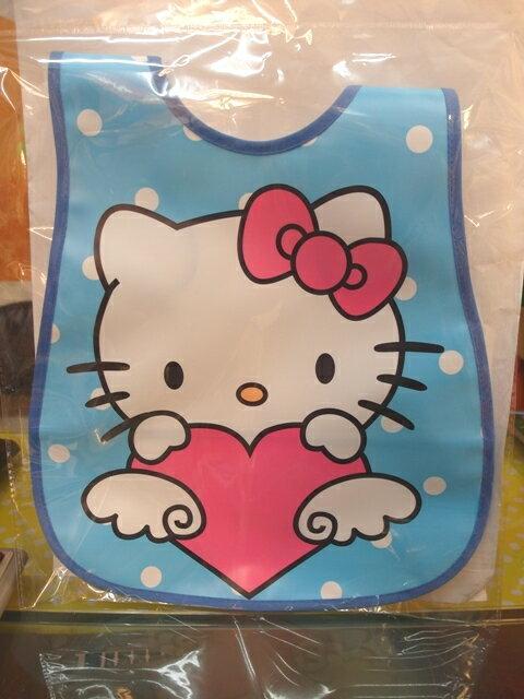 【兒童】 防水造型圍兜(Hello Kitty)