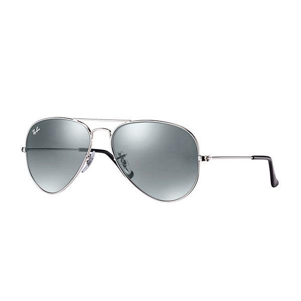 RayBan時尚太陽眼鏡(銀框銀色鏡面)