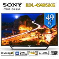 SONY 索尼推薦到SONY 索尼 KDL-49W660E 49吋 FHD液晶電視【贈基本桌裝】