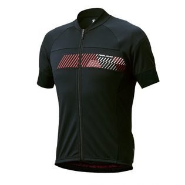 【7號公園自行車】PEARLIZUMI603-B-5基本款男性短袖車衣(黑)