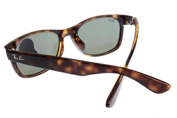 Ray Ban 雷朋 琥珀玳瑁色 RB2140 太陽眼鏡  加大&正常版 6