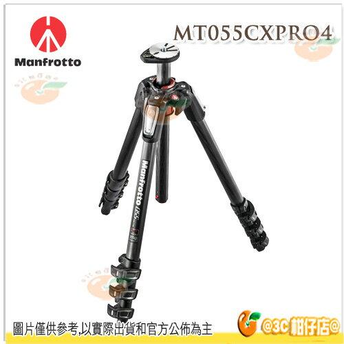 Manfrotto MT055CXPRO4  + MHXPRO-BHQ2 球型雲台 新055系列 碳纖維四節腳架 腳架組 正成公司貨