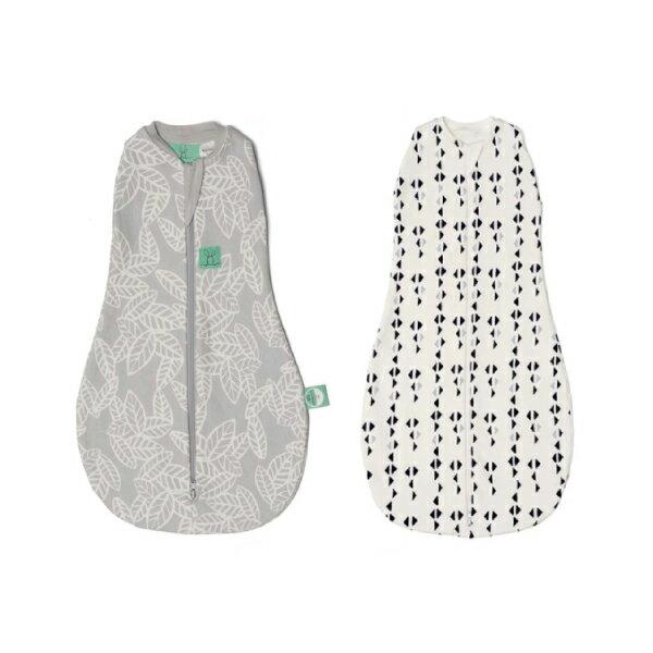 【全品牌任兩件贈三角圍兜】ergoPouch ergoCocoon 二合一舒眠包巾 1T(0~3M/3-12M) 懶人包巾 (2款可選)