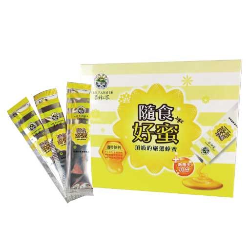 【隨身包蜂蜜】隨食好蜜25g(6入)  (家庭號補充瓶/優質好蜜/龍眼蜜/蜂蜜)【養蜂人家】