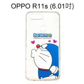哆啦A夢空壓氣墊軟殼[嘟嘴]OPPOR11s(6.01吋)小叮噹【正版授權】