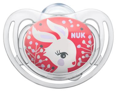 『121婦嬰用品館』NUK 舒適型矽膠安撫奶嘴 - 初生 3