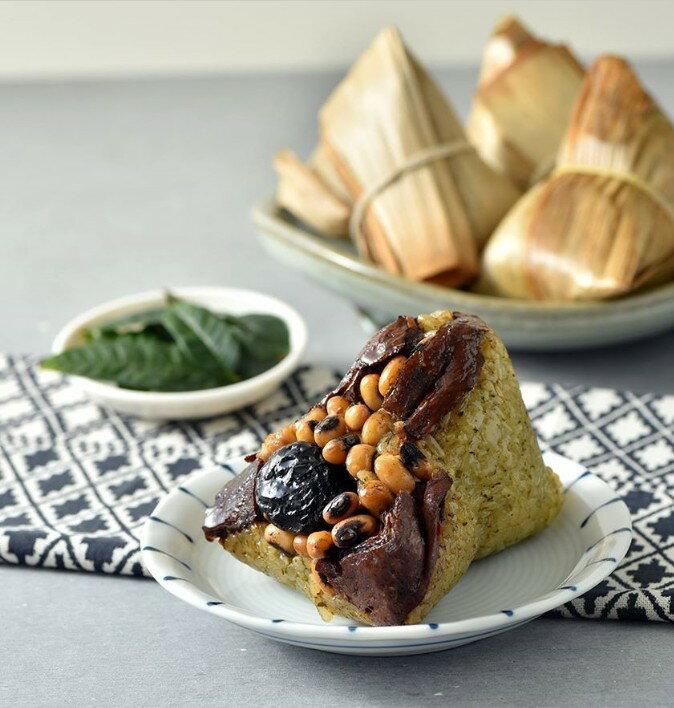 【野味食品】黑橋牌 古早味香椿素粽(5入/袋)-蛋奶素,粽子,桃園實體店面出貨