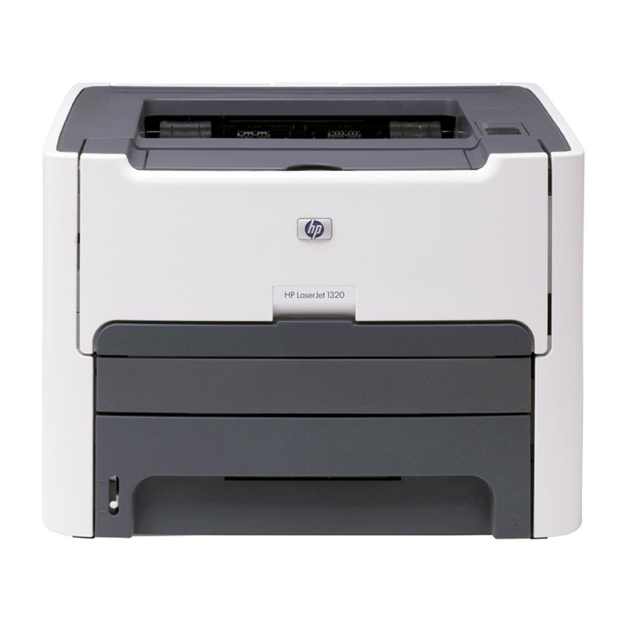 HP LaserJet 1320 Laser Printer - Monochrome - 1200 x 1200 dpi Print - Plain Paper Print - Desktop - 22 ppm Mono Print - Letter, Legal, Executive, Index Card, Envelope No. 10, Monarch Envelope, Custom Size - 250 sheets Standard Input Capacity - 10000 Duty 0