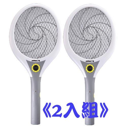 【日象】大拍大眾大旋風電池式電蚊拍 ZOM-2400(2入組)
