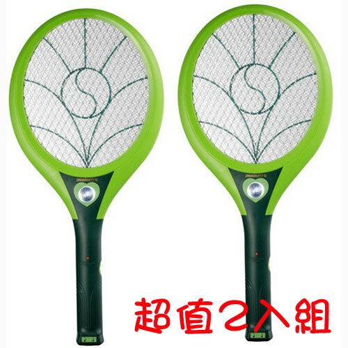 【日象】特展神威捕蚊拍充電式 ZOM-3900(2入組)