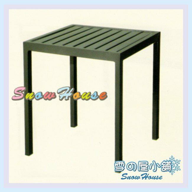 ╭☆雪之屋小舖☆╯S41A60 P34鐵板小邊桌/造型餐桌/休閒桌/咖啡桌/置物桌/戶外桌/小方桌/方桌