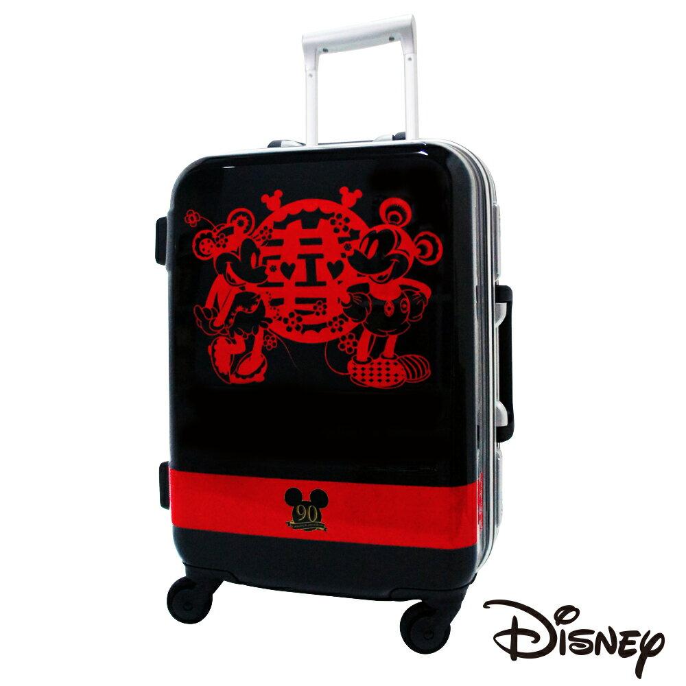 【日本 Disney】迪士尼90週年紀念19.5吋 PC 拉桿 360度超靜音車輪 輕量 行李箱 / 旅行箱