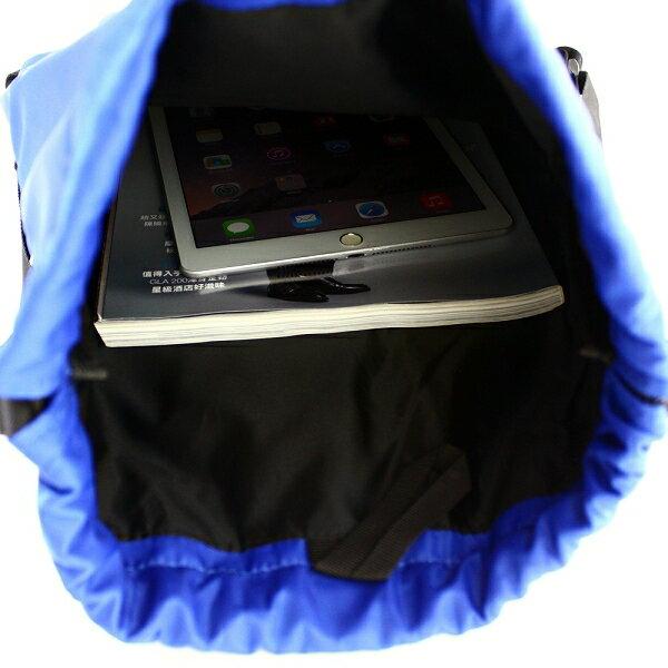 後背包 繽紛亮彩防潑水尼龍口袋束口包 NEW STAR BK168 7