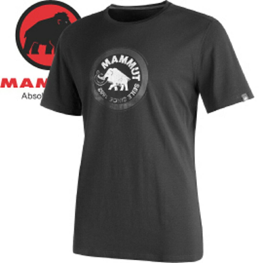 【MAMMUT 長毛象 男款 SEILE T-SHIRT 短袖T恤〈石墨灰〉】1041-09210/短袖/短袖上衣/休閒T恤