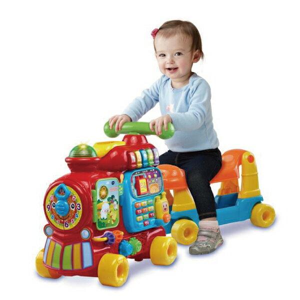★衛立兒生活館★Vtech 4合1智慧積木學習車(歡樂積木學習車)