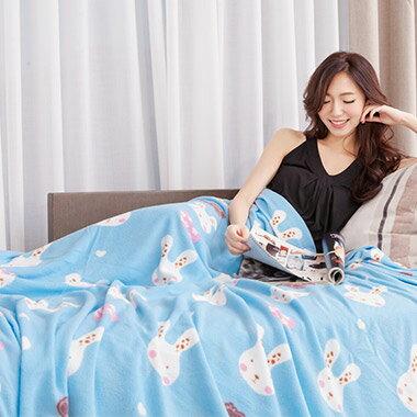 PureOne搖粒絨雙人四季毯 @ 坐車、打電腦、冷氣房都適用!在冷氣房不怕感冒