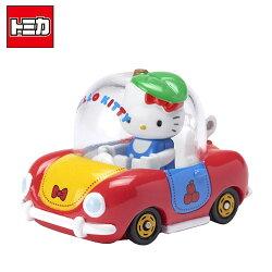【日本正版】TOMICA 多美小汽車 凱蒂貓 Hello Kitty x Apple Car R02 騎乘系列 玩具車 - 887317