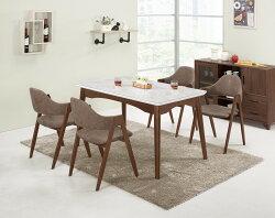 【尚品家具】CM-463-1   姬達4.3尺餐桌
