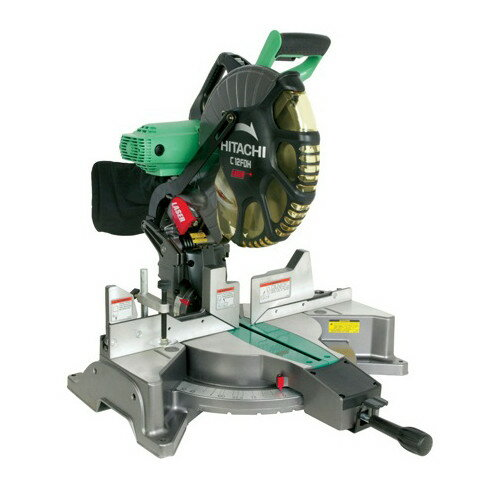 "Refurb Hitachi 12"" Dual Bevel Miter Saw + $15.80 Rakuten Credit"