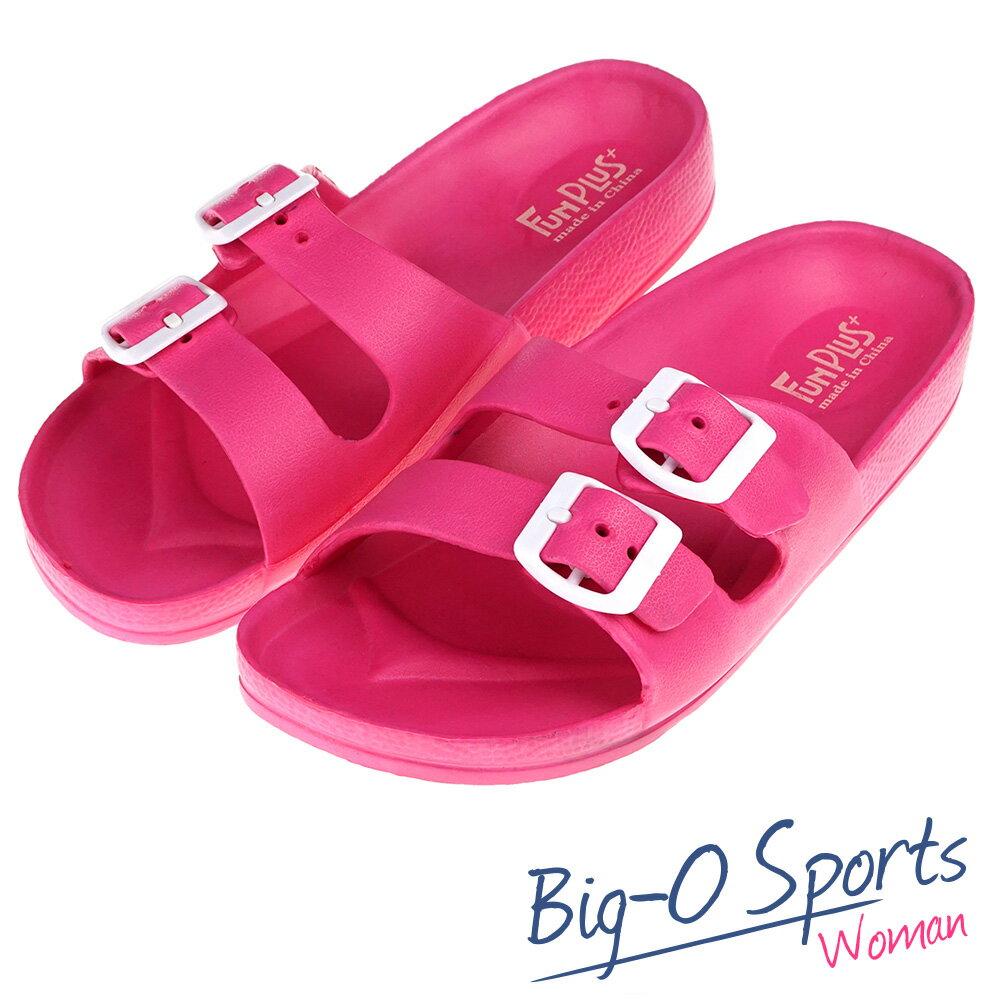 秒殺新款!!!  FUN PLUS+  輕便鞋 涼鞋 運動拖鞋  女 116101812000  Big-O Sports