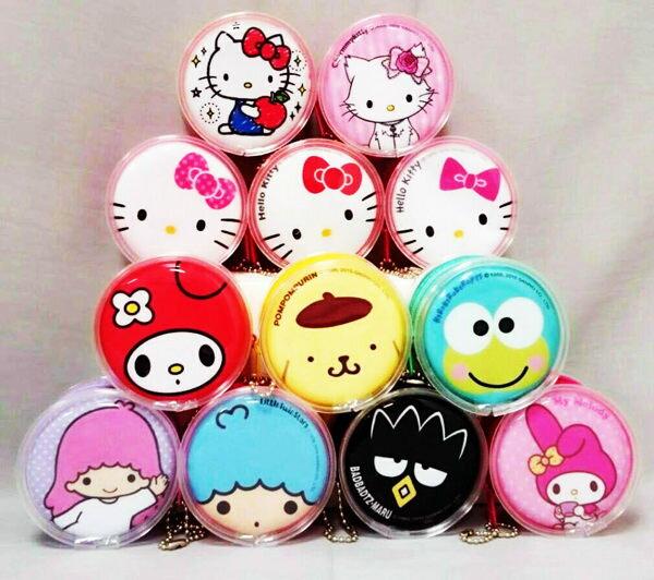 小熊日系* 正版 KT 零錢包 置物盒 Hello Kitty