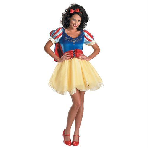 Snow White and the Seven Dwarfs Snow White Prestige Teen/Adult Halloween Costume 0