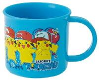 Pokemon:精靈寶可夢到日本製 神奇寶貝 精靈寶可夢 Pokémon 皮卡丘 塑膠水杯 兒童水杯 神奇寶貝 精靈寶可夢 Pokémon 皮卡丘 塑膠水杯 200ML 日本進口正版 383304
