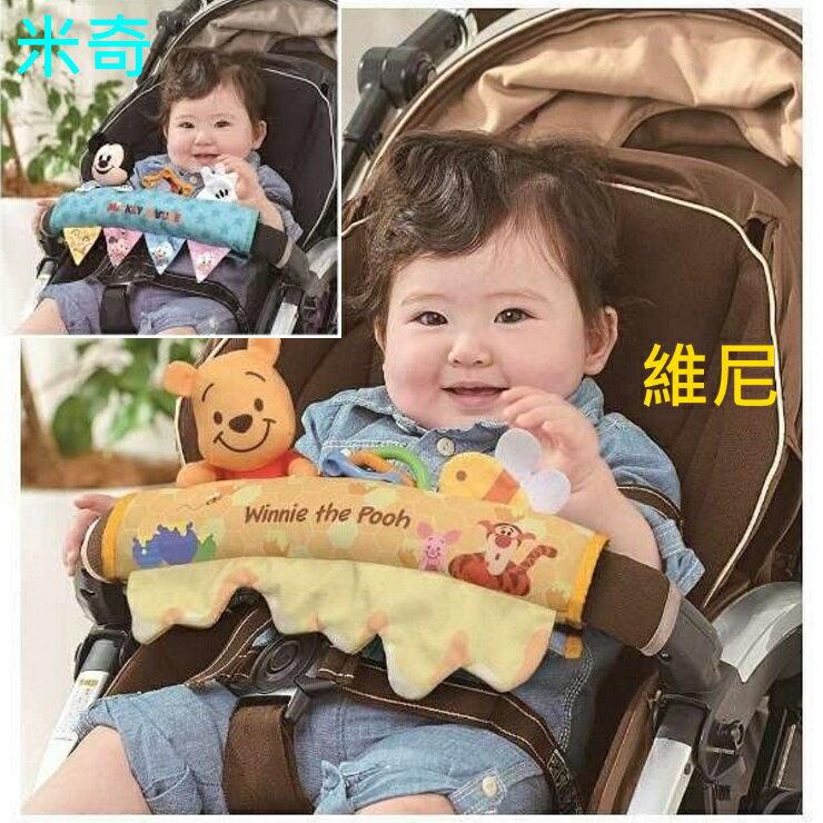 Takara tomy迪士尼嬰兒車掛飾 米奇/維尼【寶貝樂園】