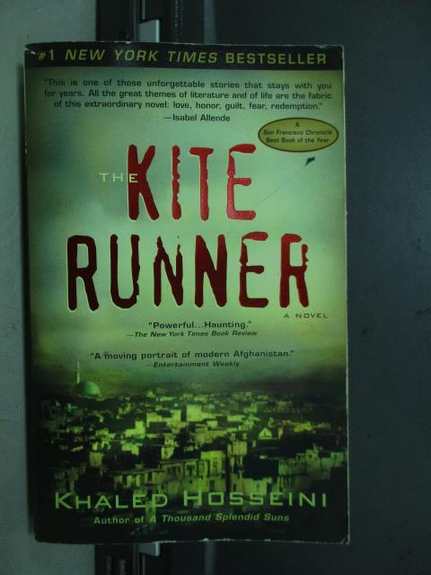 【書寶二手書T9/原文小說_NDX】The kite runner_2005