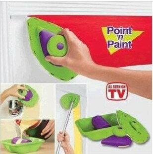 【省錢博士】point n paint / 油漆刷 / 家用刷 / 多功能滾筒刷 199元