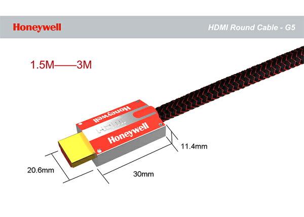 宏華資訊廣場:HoneywellG5系列4KHDMI圓線2M店面提供測試線