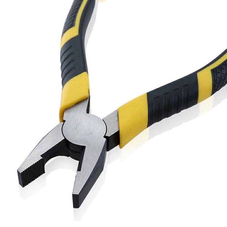 多功能省力鋼絲鉗 斜口鉗虎口鉗尖咀鉗 合金鋼尖嘴剝線鉗 老虎鉗