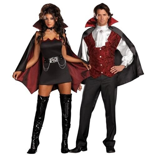Fang Bangin Fun Vamp Adult Costume 1