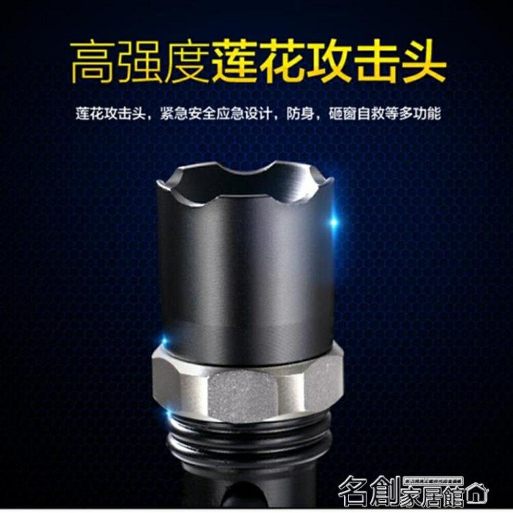 手電筒強光手電筒 可充電式遠射調焦家用迷你小手電戶外打獵騎行led 名創家居館