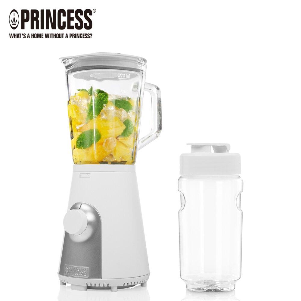 【現貨+贈超值隨行杯】Princess 荷蘭公主玻璃果汁壺+Tritan隨行杯果汁機 217400