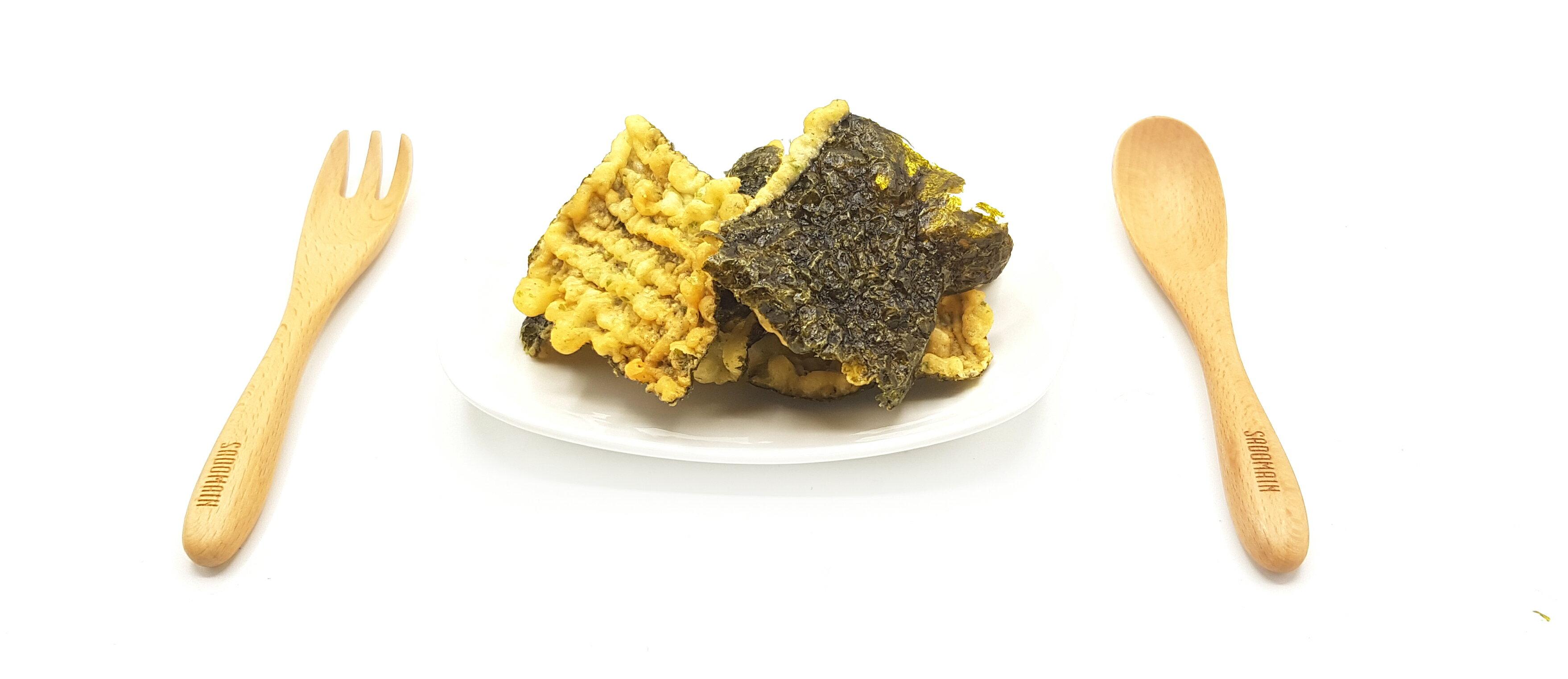 《Chara 微百貨》日本 井上 瀨戶 Maruka 海苔 天婦羅 餅乾 丸嘉 原味 150g  /  上野 芥末口味 炸物 2