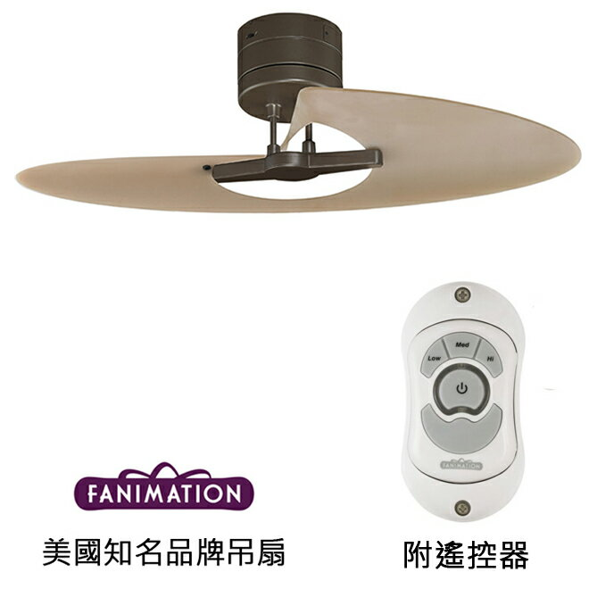 <br/><br/>  [top fan] Fanimation Marea 42英吋吊扇(FP8026OB)油銅色<br/><br/>