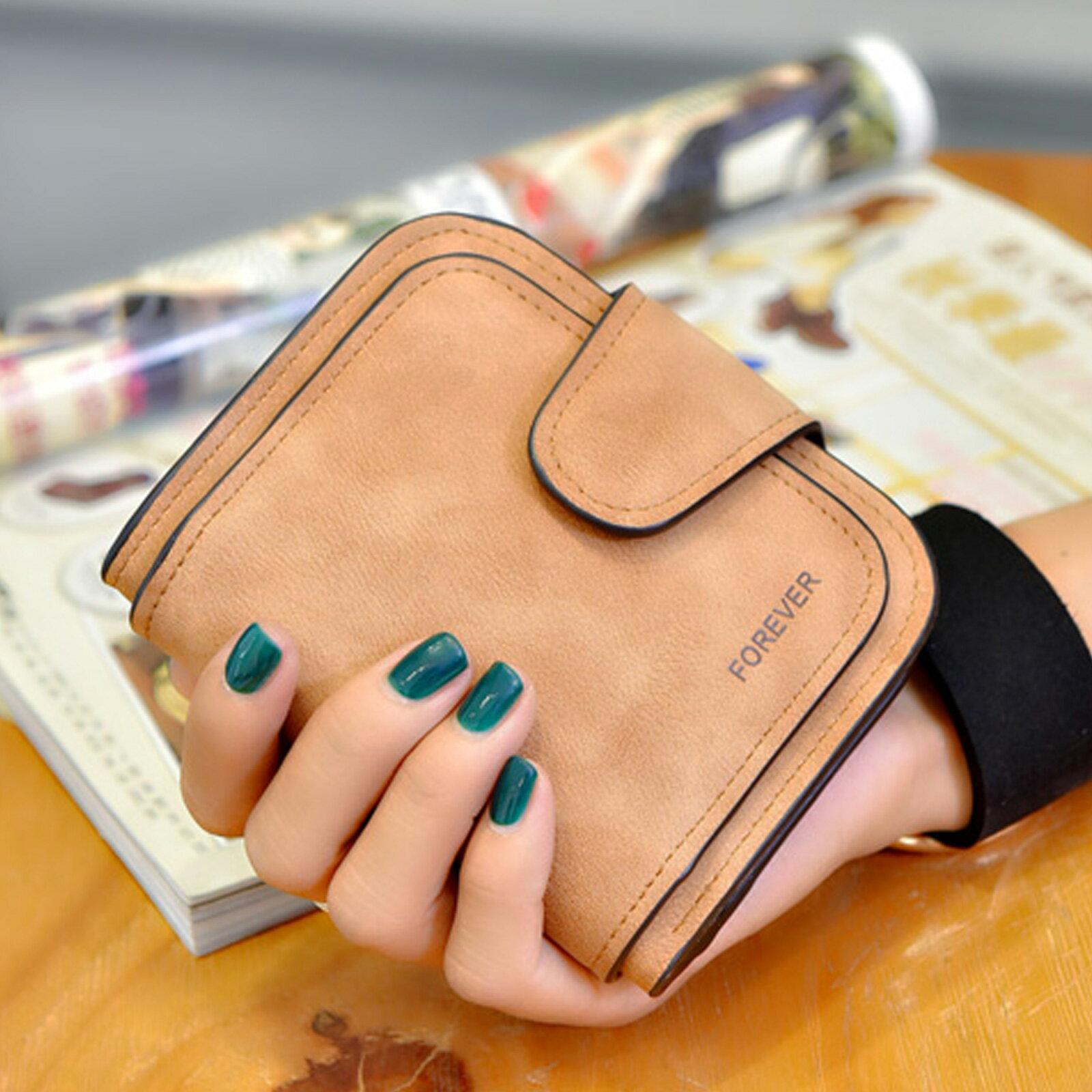 皮夾 錢包 拉鏈扣式磨砂多層短夾【O3215】☆雙兒網☆ 4