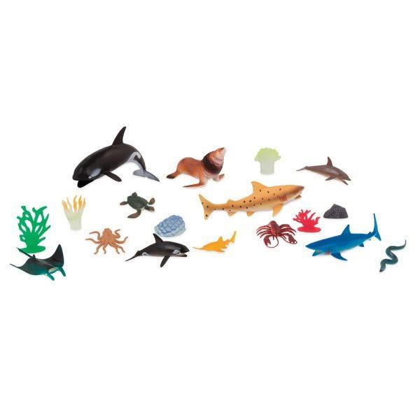 【美國B.Toys感統玩具】TERRA海洋世界(情境桶)60PCSAN2772Z