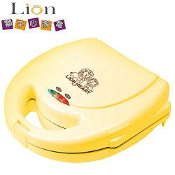 [滿3千,10%點數回饋]★熱賣商品★LION獅子心圓型厚片鬆餅機LWM-118  **免運費 ** *** 免運費 ***