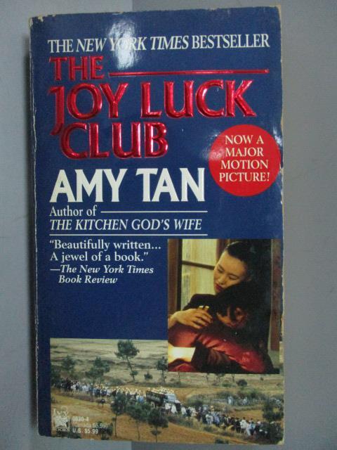 ~書寶 書T7/原文小說_IQW~The Joy Luck Club_Amy Tan