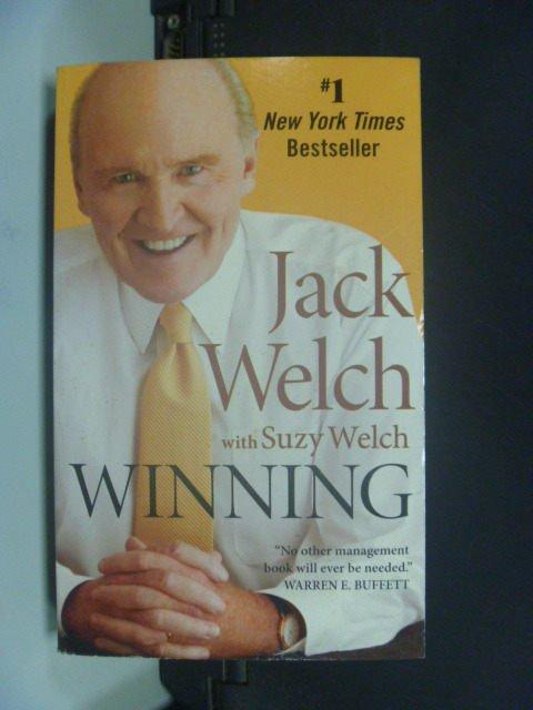 【書寶二手書T3/財經企管_JOP】Winning_Welch, Jack