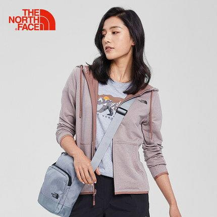 [ THE NORTH FACE ] 女 FlashDry 小Logo兜帽外套 淺棕 / 公司貨 NF0A3V4A9FU